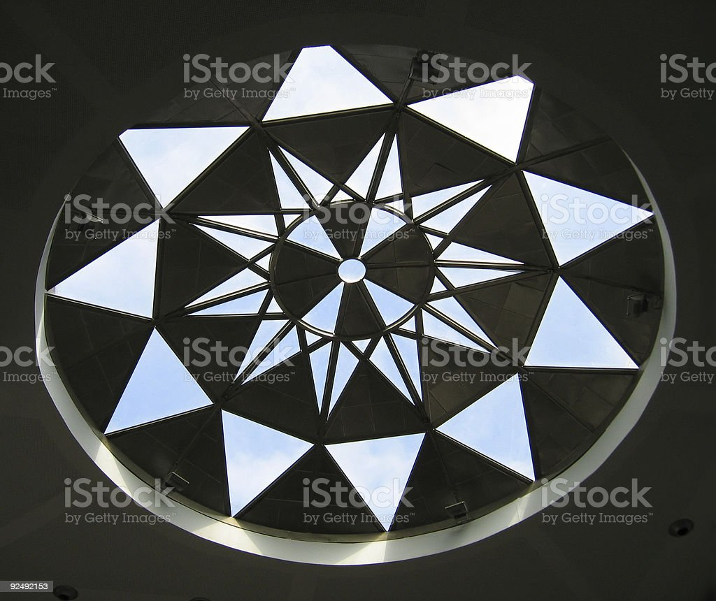 star structure royalty-free stock photo