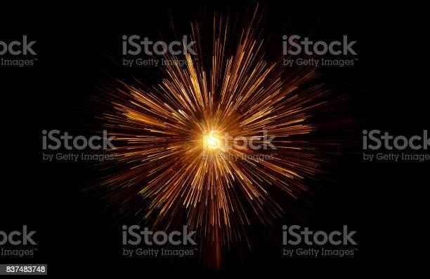 Photo of star sun supernova galaxy gold