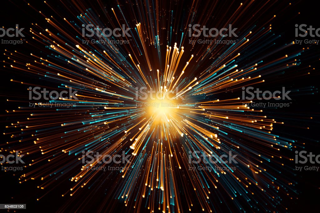 star sun zoom space galaxy travel stock photo