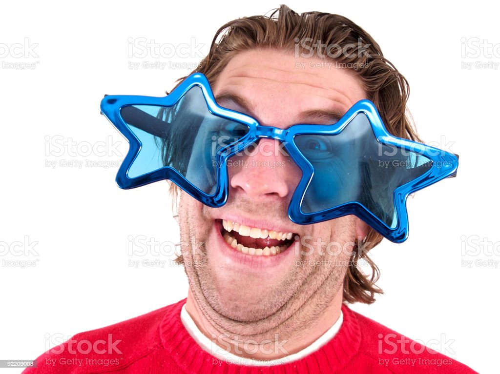 Star Sunglasses stock photo