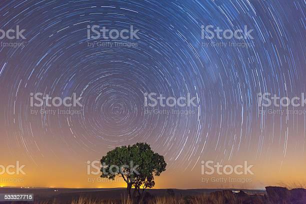 Photo of Star Trails at Ezemvelo