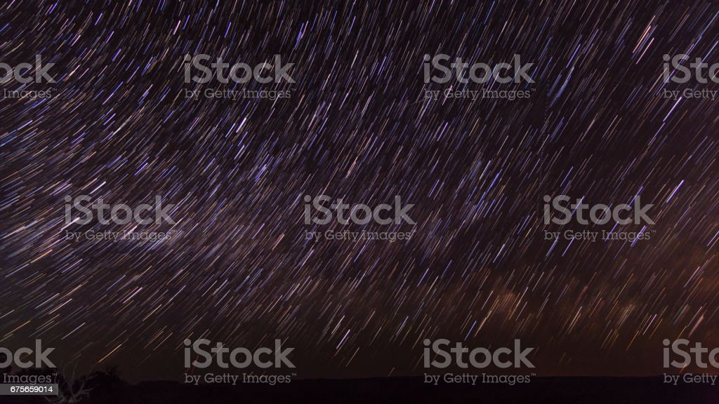 Star Trails royalty-free stock photo