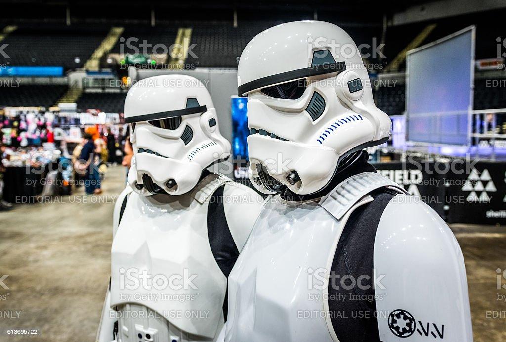 Star Wars Cosplay stock photo