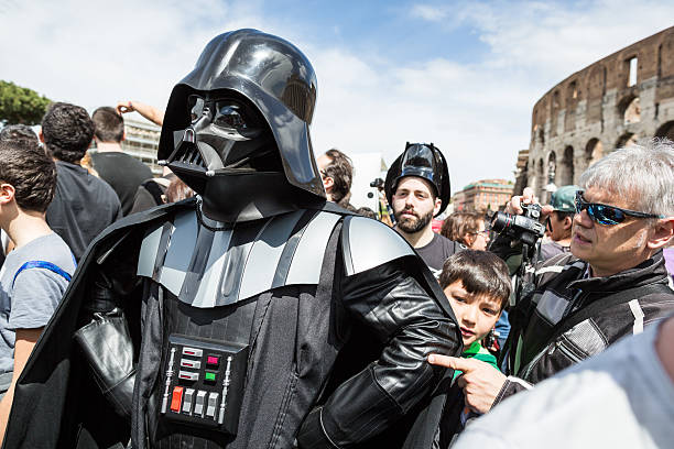 star wars day 2014 in rome - darth vader 個照片及圖片檔