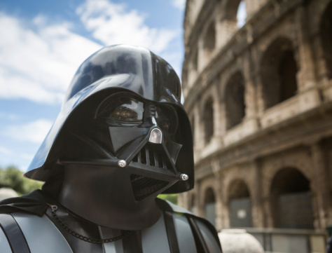 Star Wars Day 2014 In Rome Stock Photo - Download Image Now
