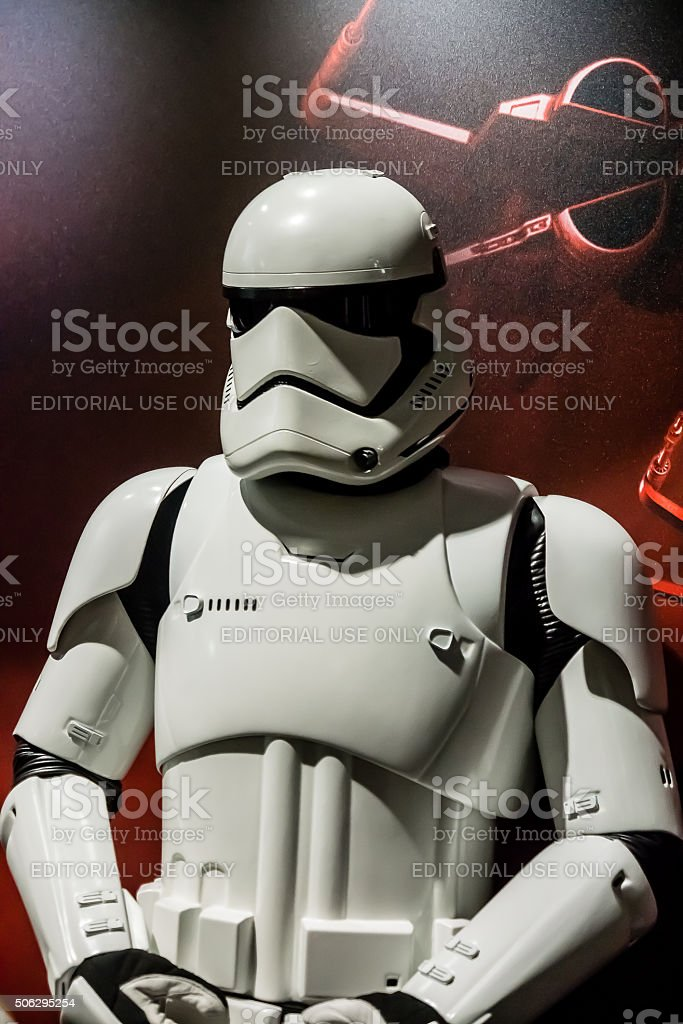 Star Wars Stormtrooper stock photo