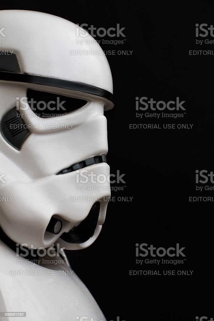 Star Wars Stormtrooper stock photo