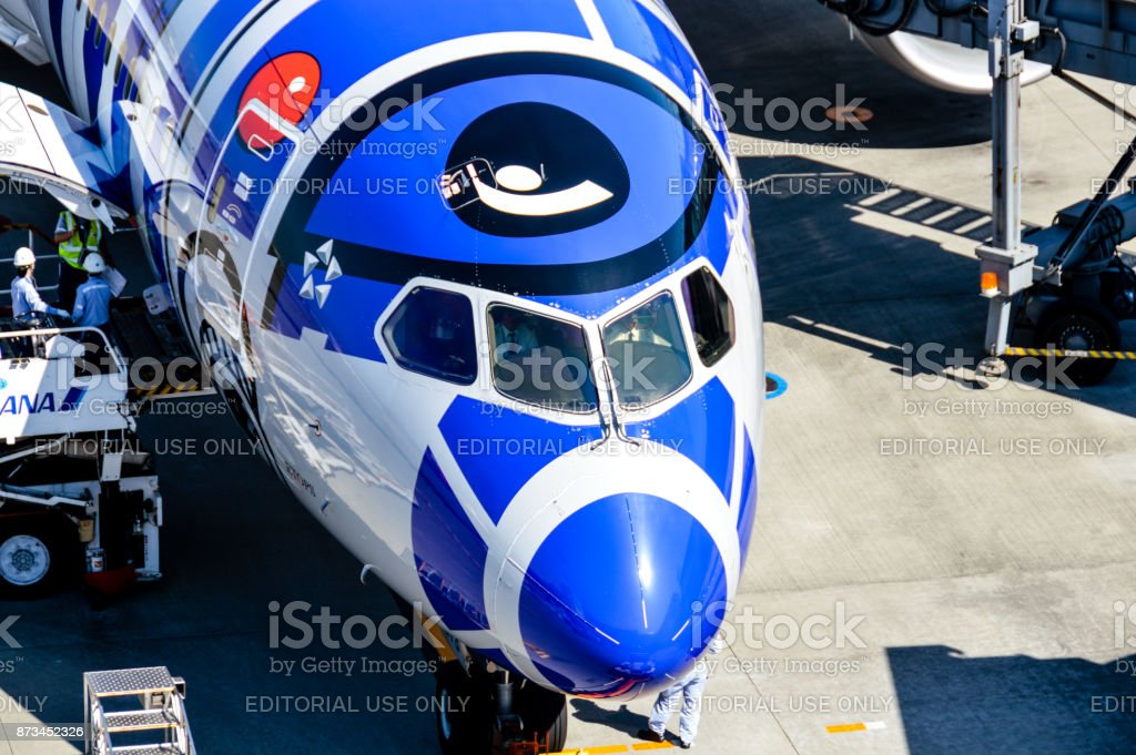 東京羽田空港で Ana スター ウォーズ テーマ飛行機 アメリカ合衆国のストックフォトや画像を多数ご用意 Istock
