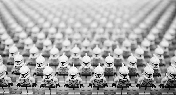 star wars troopers - star wars - fotografias e filmes do acervo