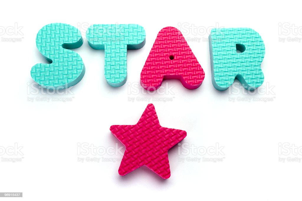 Star Words royalty-free stock photo