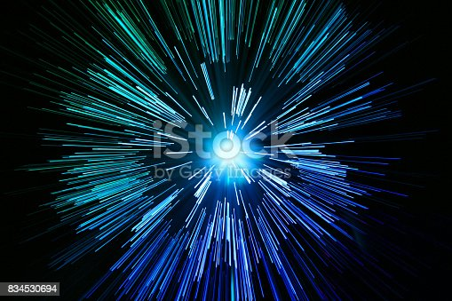 istock star zoom space travel background 834530694