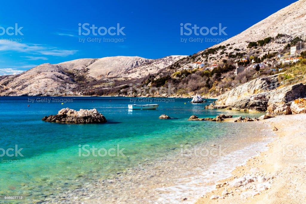 Stara Baska Bucht in krk – Foto