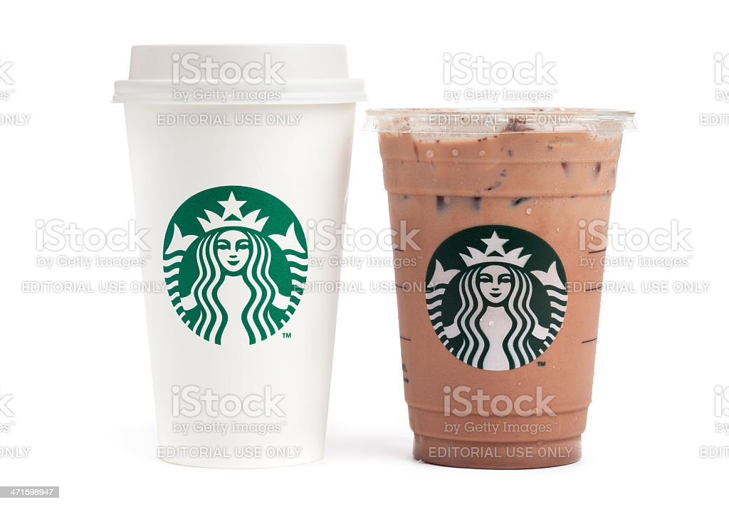 Starbucks Beverages stock photo