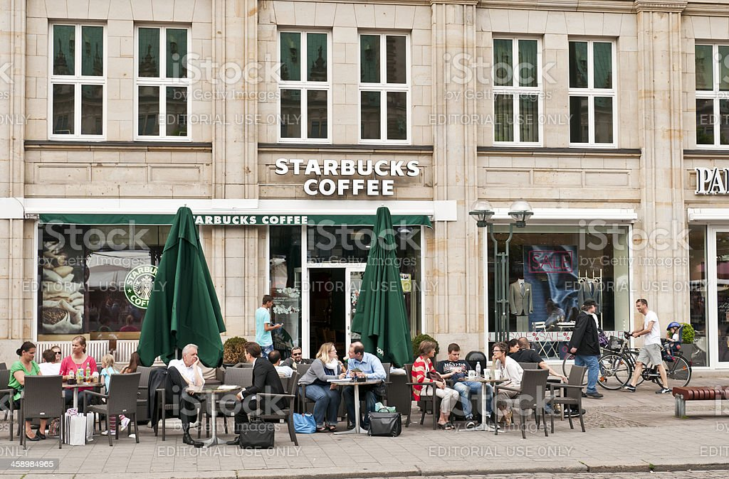 Starbucks Coffee Hamburg Stock Photo Download Image Now Istock
