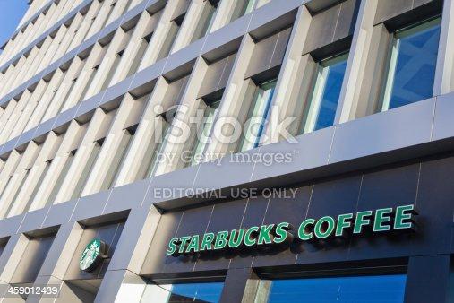 istock Starbucks Coffee in Poland 459012439