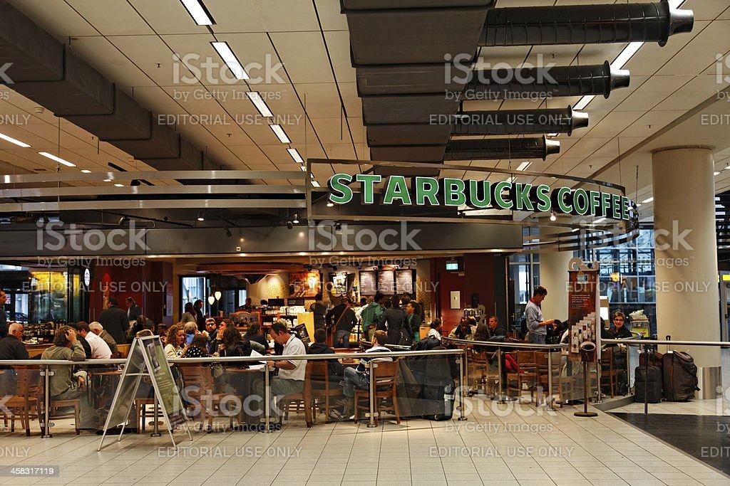 Starbucks Coffee stock photo