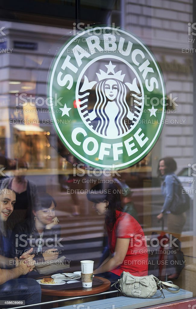 Starbucks Coffee stock photo