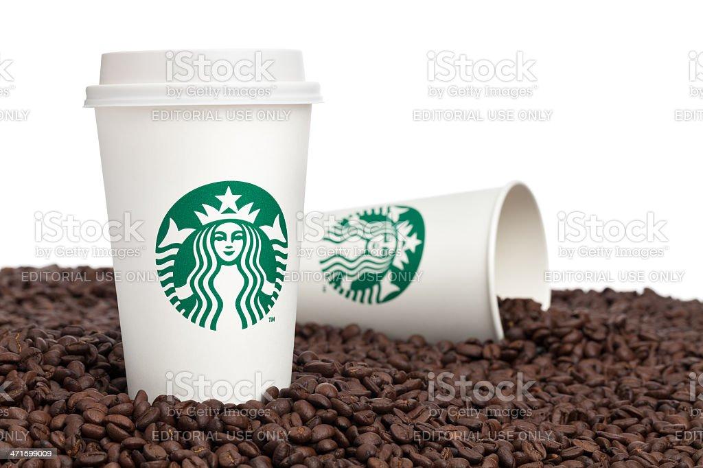 Starbucks Coffee royalty-free stock photo