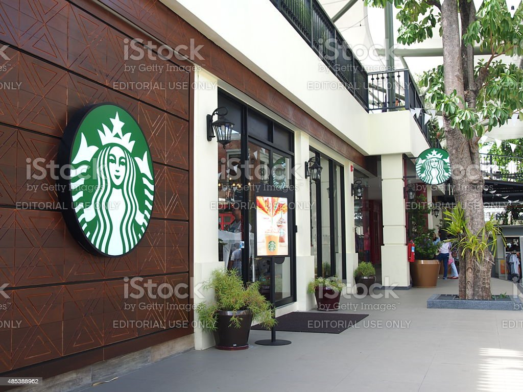 Starbucks coffee shop stock photo
