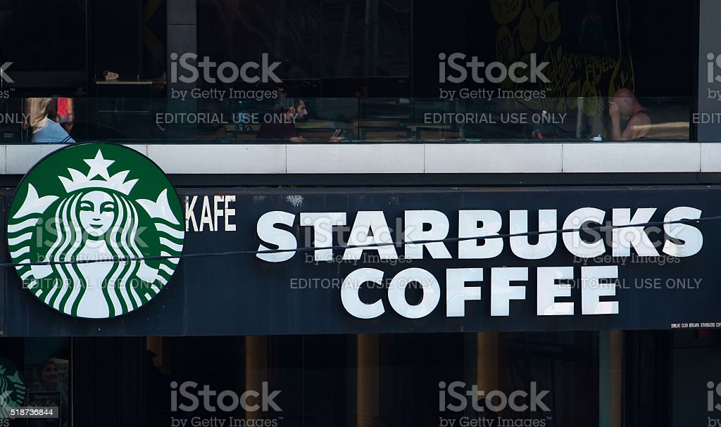 Starbucks Coffee Shop Stock Photo More Pictures Of Adult Istock