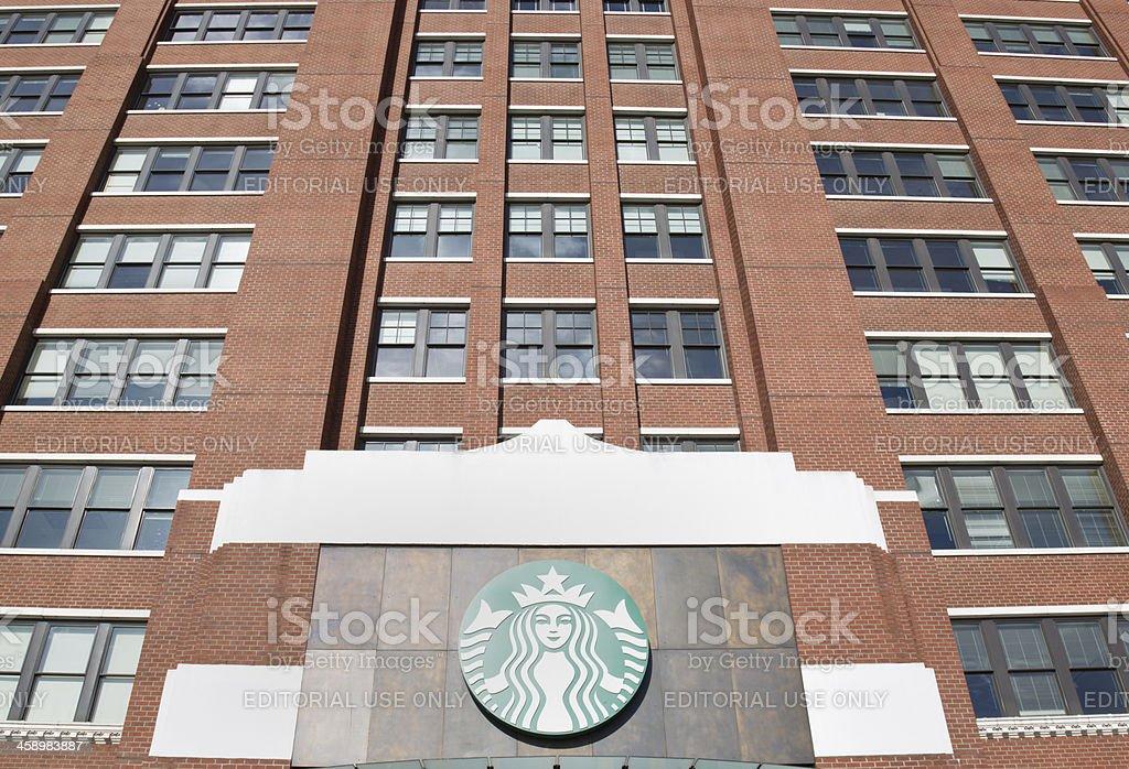 Starbucks Corporation Head Office stock photo