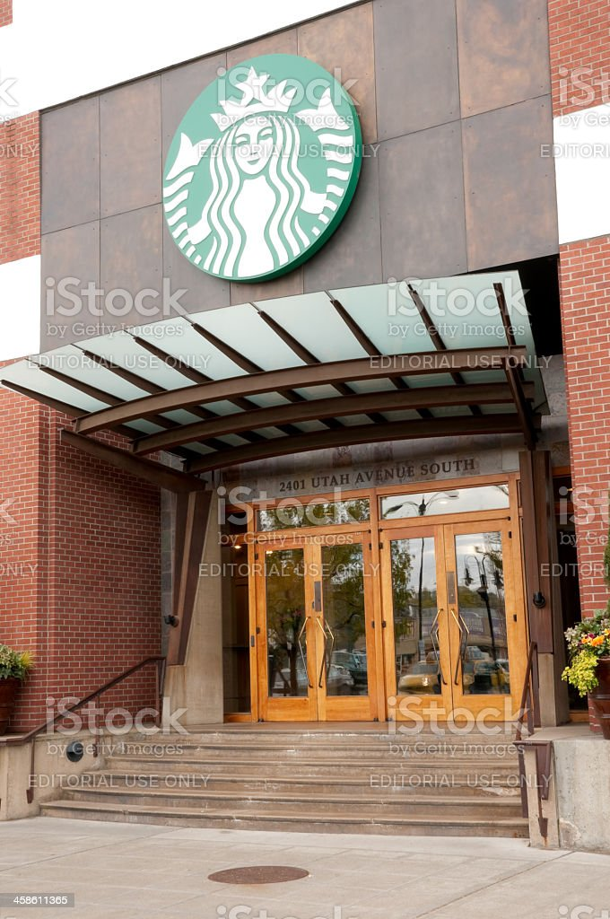 Starbucks Headquarters stock photo