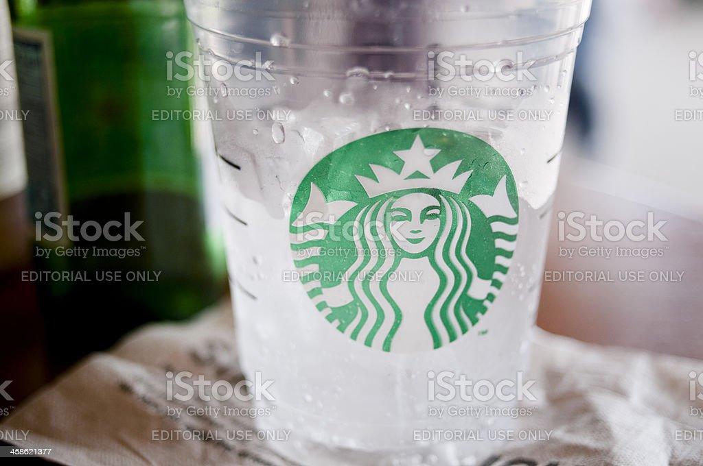 Starbucks royalty-free stock photo