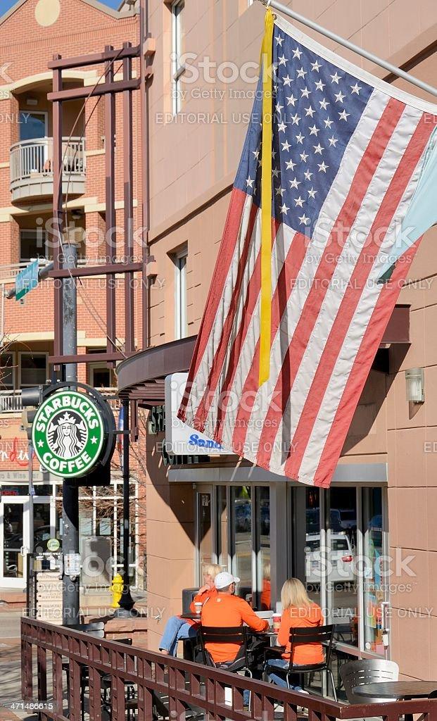 Starbucks stock photo