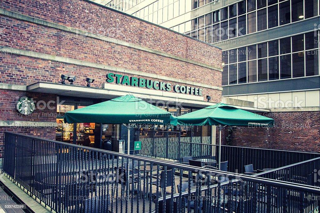 Starbucks Shop at Osaka stock photo