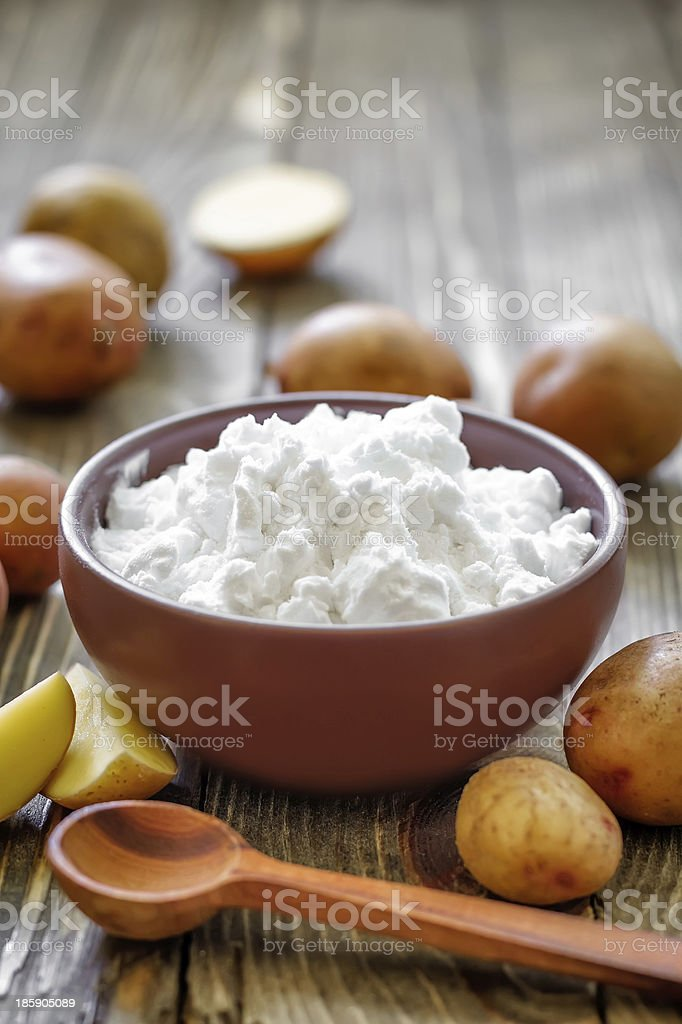 Starch royalty-free stock photo