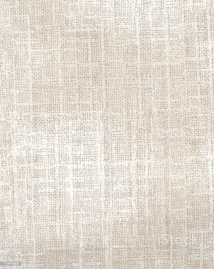 Starched Cotton Fabric stock photo