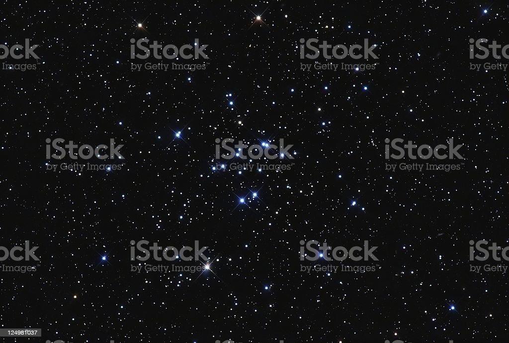 Starcluster M34 royalty-free stock photo