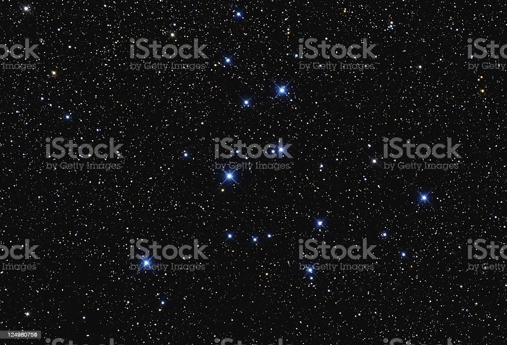 Starcluster M39 stock photo