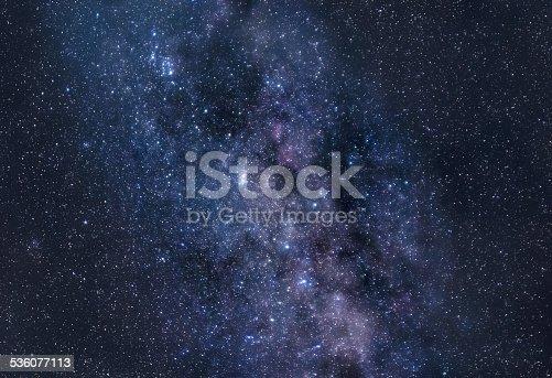 istock Stardust of Milky Way 536077113