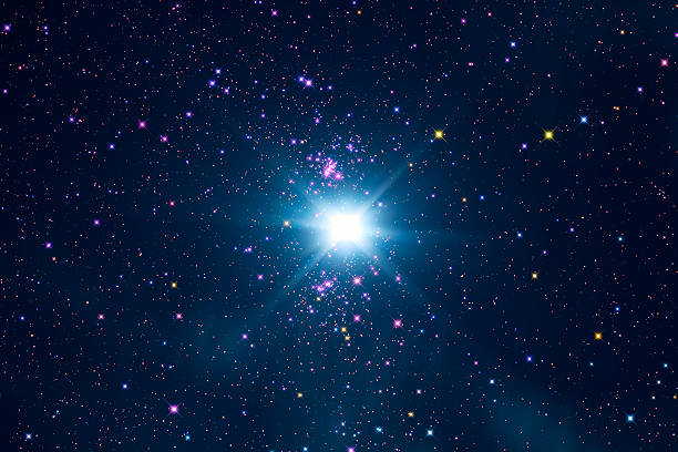 Star-field Star field in the Milky Way.   north star stock pictures, royalty-free photos & images
