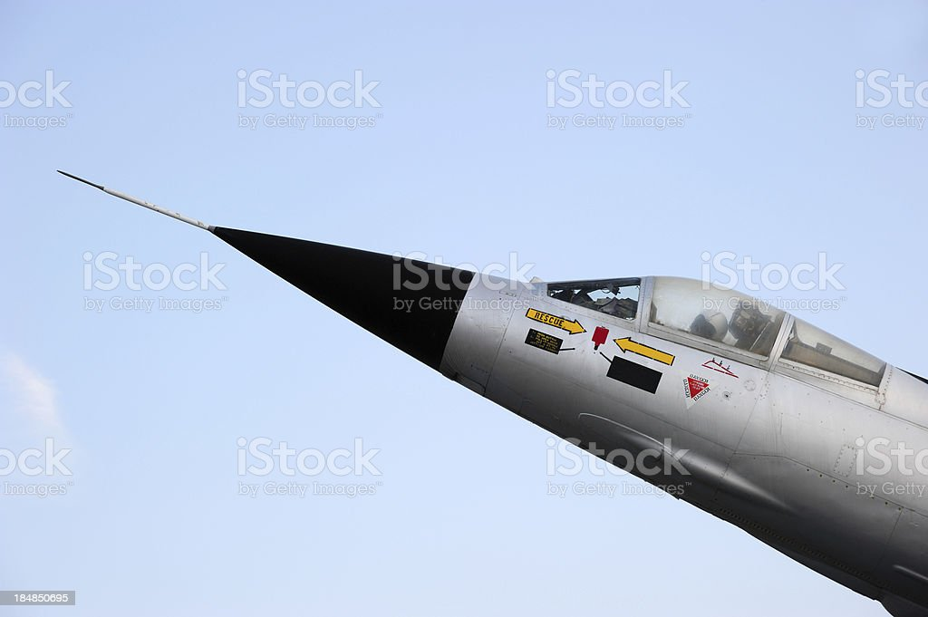 Starfighter Detail royalty-free stock photo