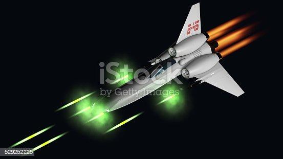 istock starfighter shooting his four guns 529252225