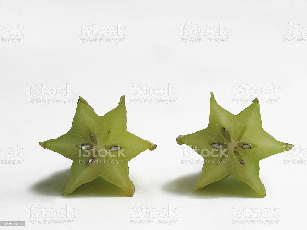 Starfruit royalty-free stock photo