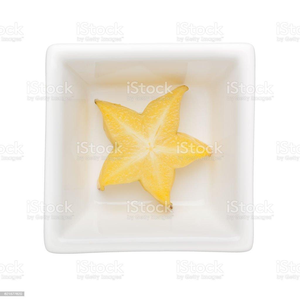 Starfruit stock photo
