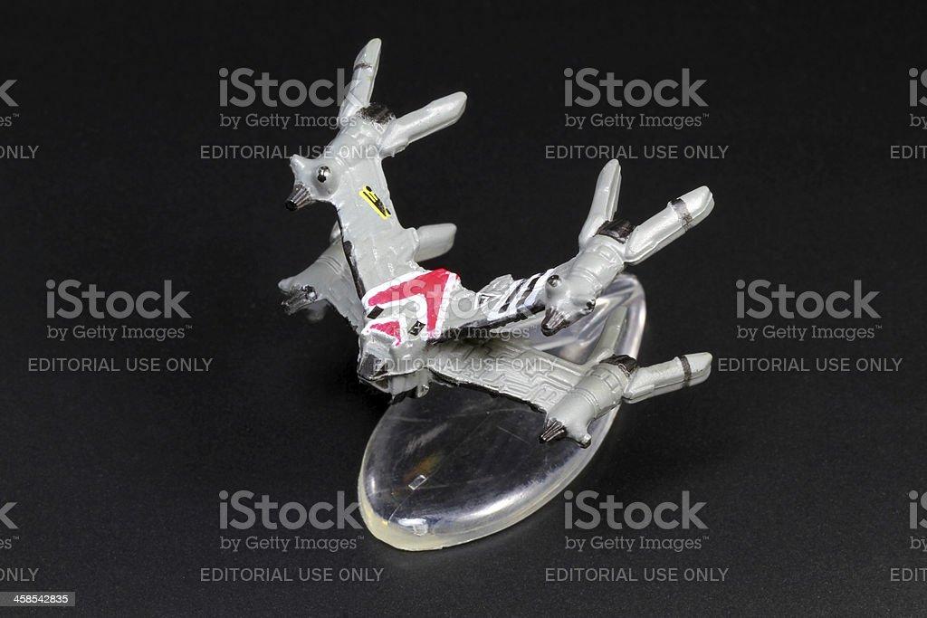 Starfury Micro Machine royalty-free stock photo