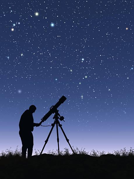 étoilé - astronomie photos et images de collection