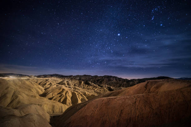 Sternenhimmel im Death Valley – Foto