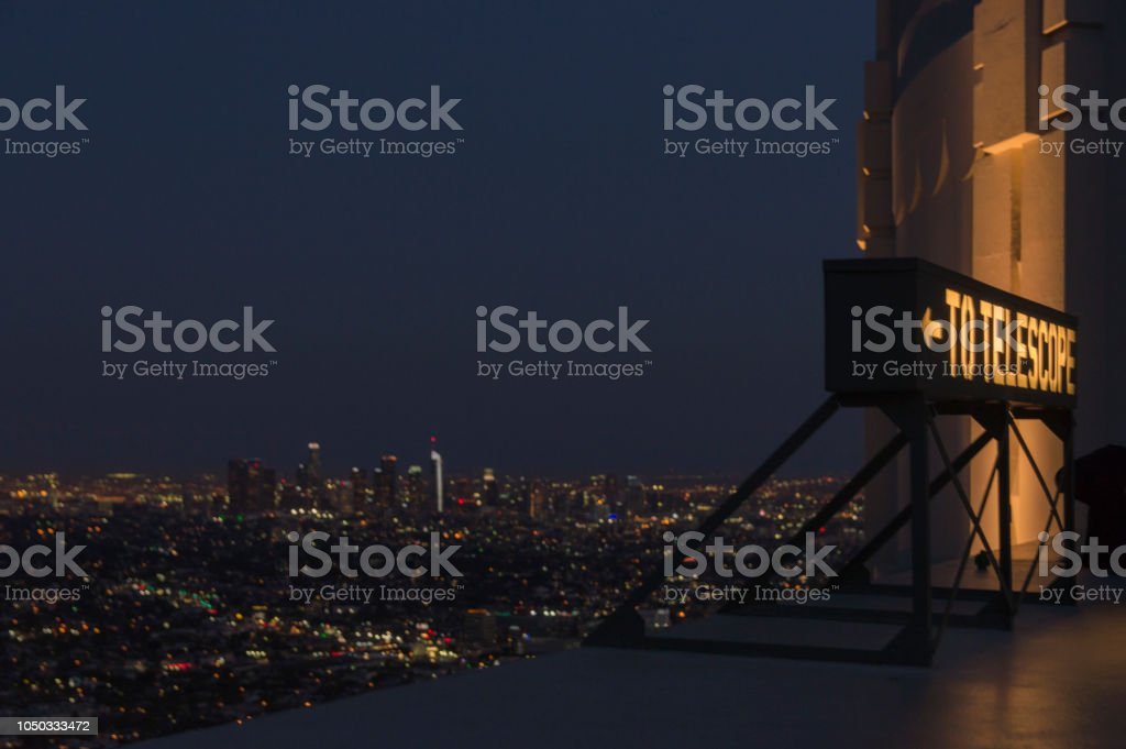 Stargazing Over Los Angeles Stock Photo & More Pictures of