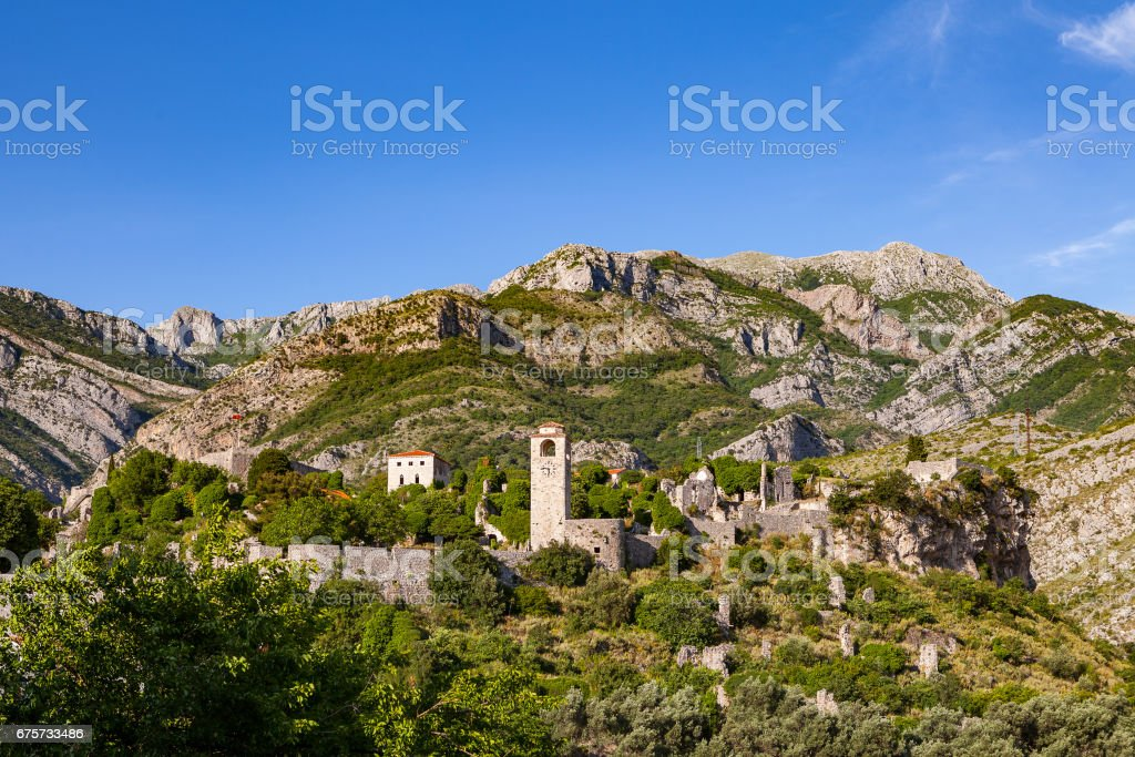 Stari Grad (Old Town), Bar, Montenegro stock photo