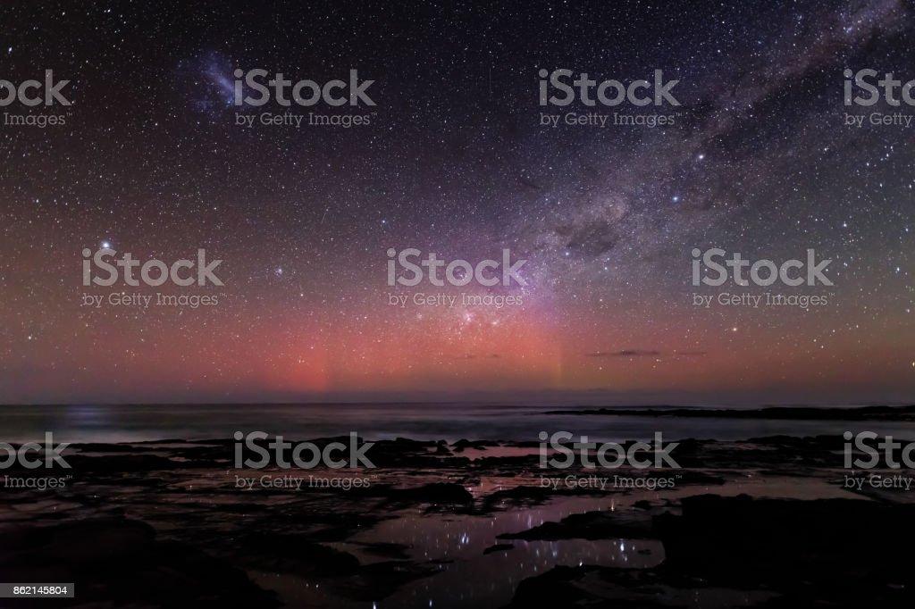 Starlight Reflections stock photo
