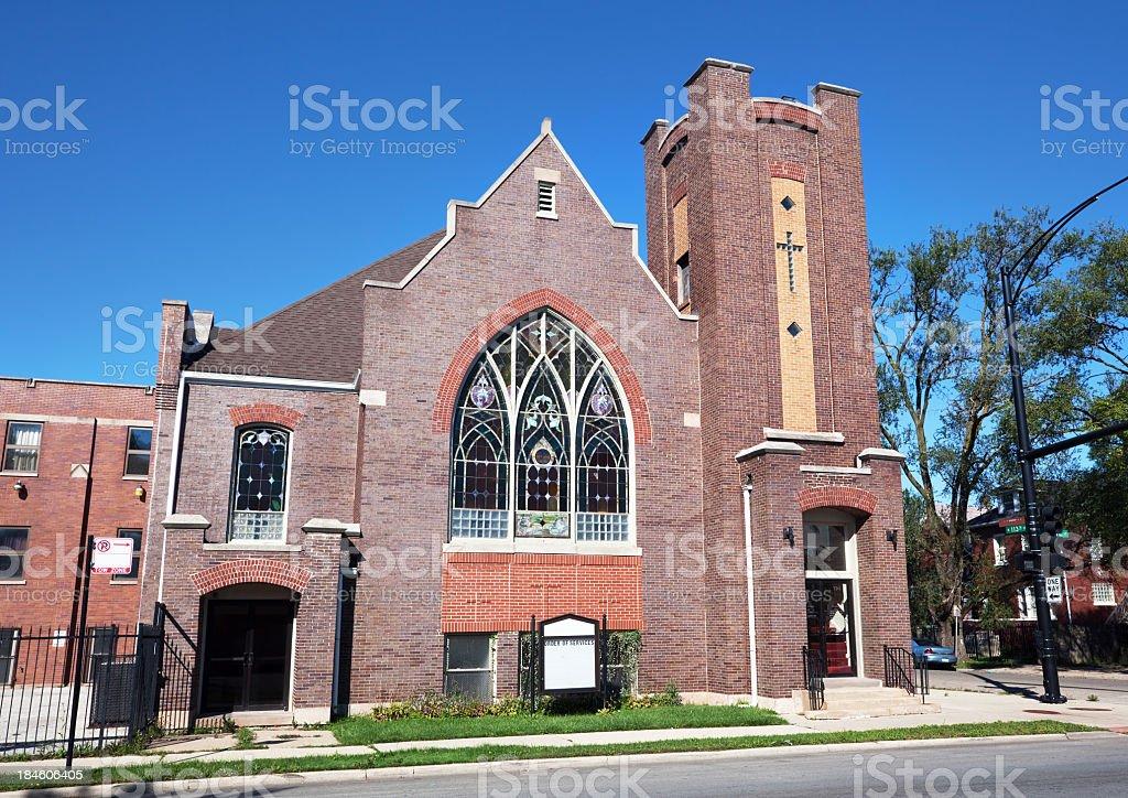 Starlight Saint James Missionary Baptist Church in Roseland, Chi royalty-free stock photo