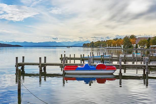 Starnberger Lake stock photo