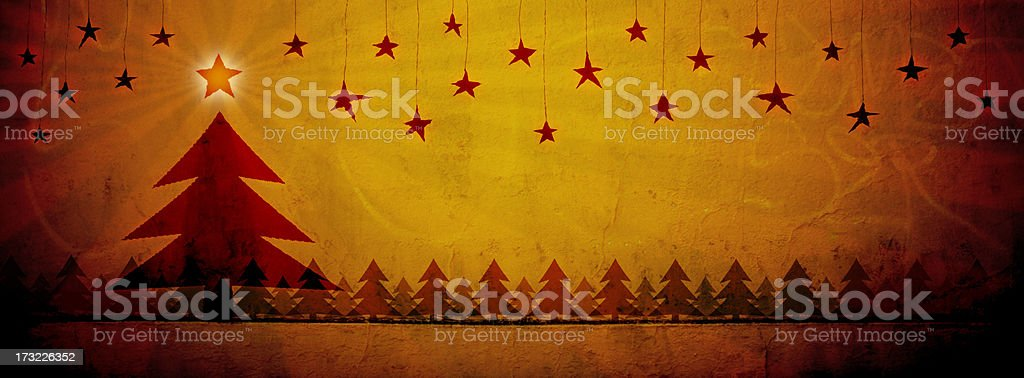 Starry Night 2 royalty-free stock photo