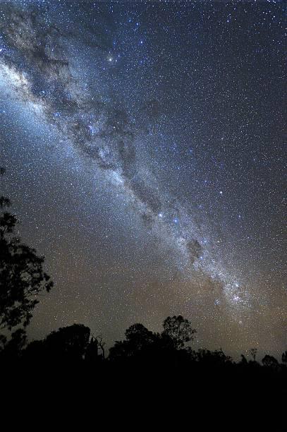 starry night - centaurus bildbanksfoton och bilder
