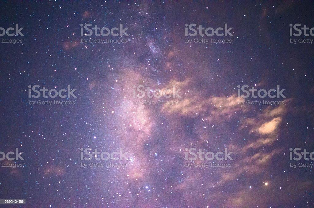 Starry night sky background royalty-free stock photo